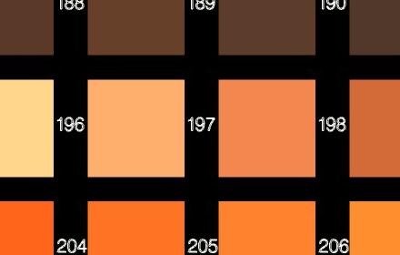 Kleuren algemeen